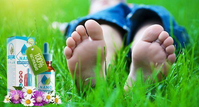 Anti toxin nano краплі від грибка нігтів і стоп позбавлять від симптомів за 3 дні!