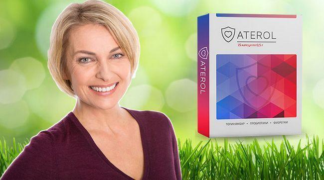 Атерол натуральний препарат для зниження холестерину і зменшення ваги