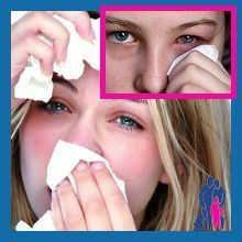 Болять очі при застуді