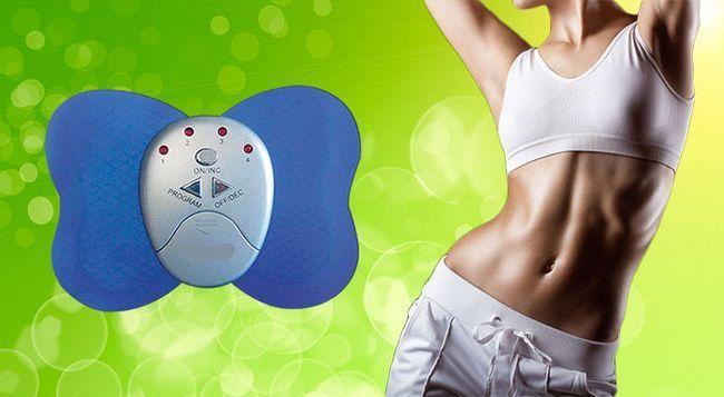 Butterfly massager міостімулятор для схуднення і зміцнення м`язів