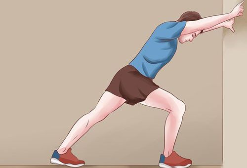 Вправа для зняття спазмів литкових м`язів