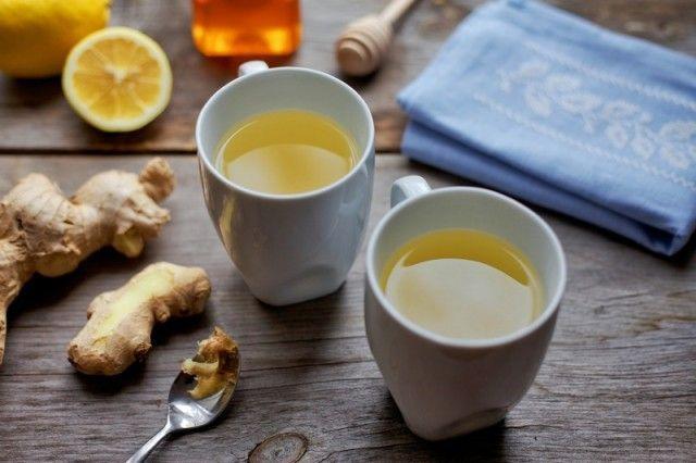 Імбирний чай з лимоном і медом