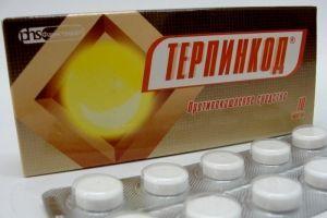 Інструкція по застосуванню препарату терпінкод