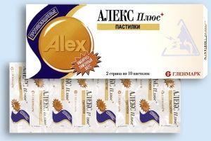 Використання препарату алекс плюс по інструкції