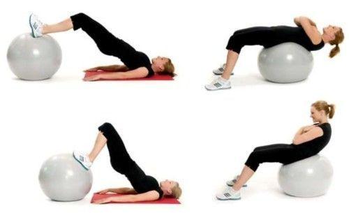 Як правильно виконувати вправи з гімнастичним м`ячем