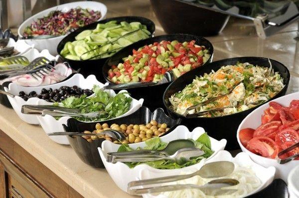 Дієтичні страви на столі