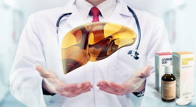 Левірон дуо препарат для повного відновлення і очищення печінки