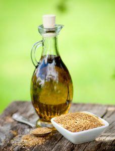 Лляна олія: склад і дію