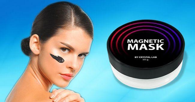 Магнетик маск від чорних крапок і прищів очищає, живить і тонізує шкіру обличчя в будь-якому віці