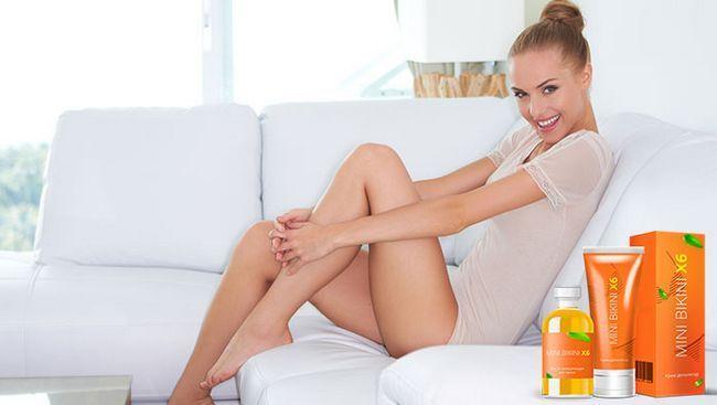 Mini bikini x6 комплекс для депіляції подарує ніжкам гладкість і красу!