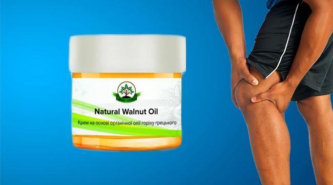 Natural walnut oil мазь для суглобів подарує рух без болю