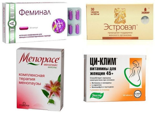 Негормональні препарати при клімаксі