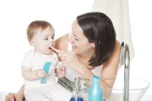 Молочні зуби вимагають відходу