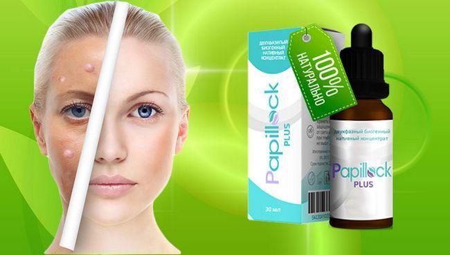 Papillock plus бальзам від папілом і бородавок м`яко і дбайливо очистить шкіру