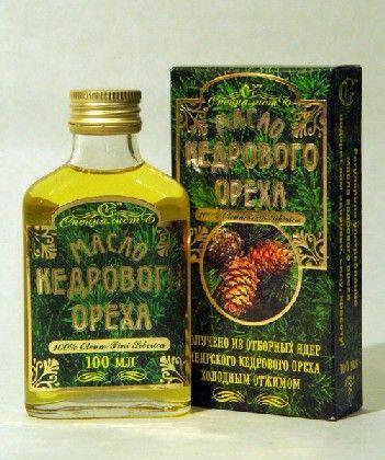 Корисні лікувальні властивості кедрового масла
