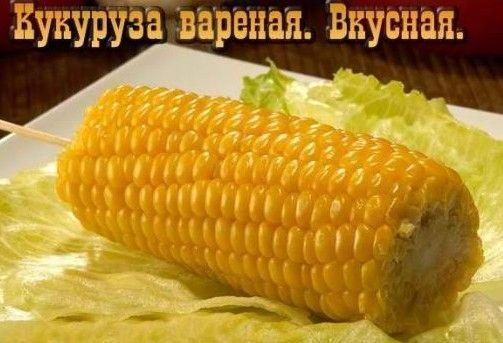 Користь вареної кукурудзи (початок, каша, попкорн)