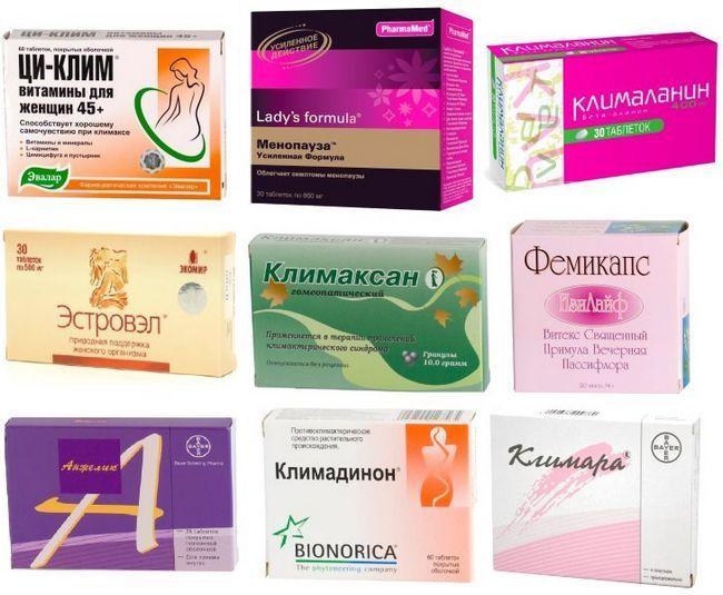 Препарати при клімаксі у жінок: гормональні і негормональні