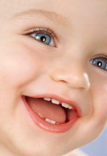 Прорізування молочних зубів