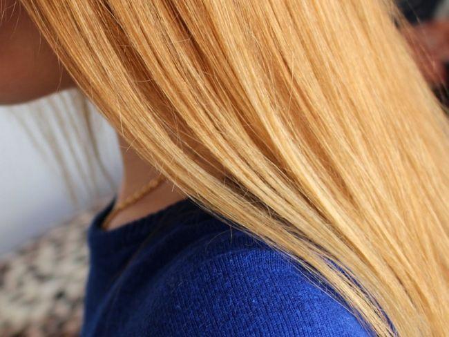 Здорове волосся після маски